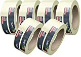 6x Malerkrepp Kreppband Feinkreppband Abklebeband Painty Tape 50 Meter * 38 mm für präzises Streichen & Malerarbeiten (3)