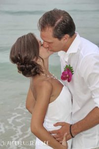 Hochzeit Kuss