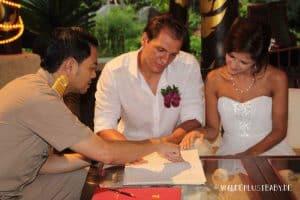 Heiraten in Thailand Dokumente