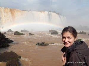 weltreise 1 jahr Wasserfälle