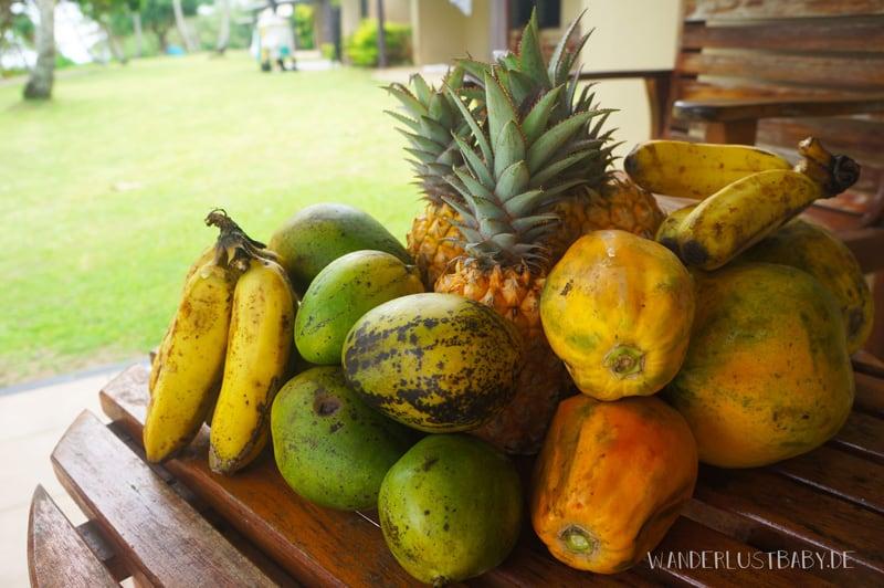 Früchte aus Fidschi
