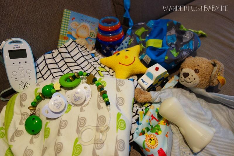 Packliste für Kinder auf Reise