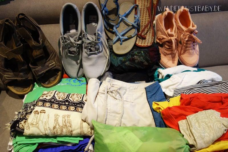 Schuhe für Reise