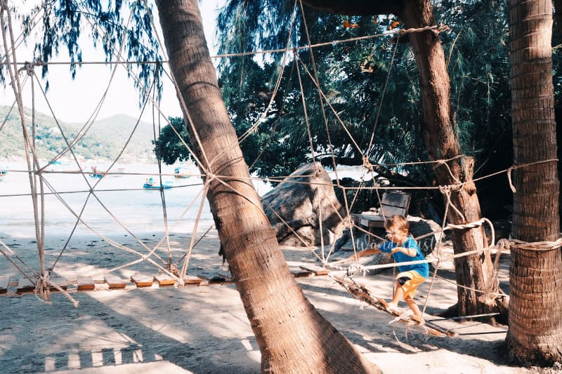 Koh Phangan mit Kindern