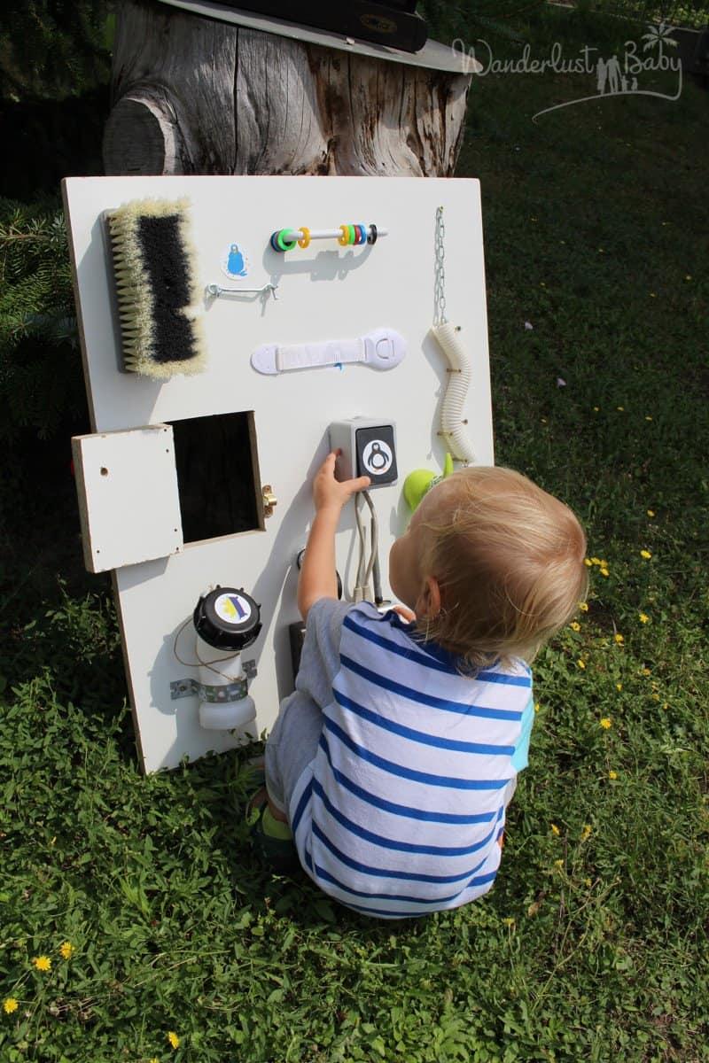 Busy Board Schalter