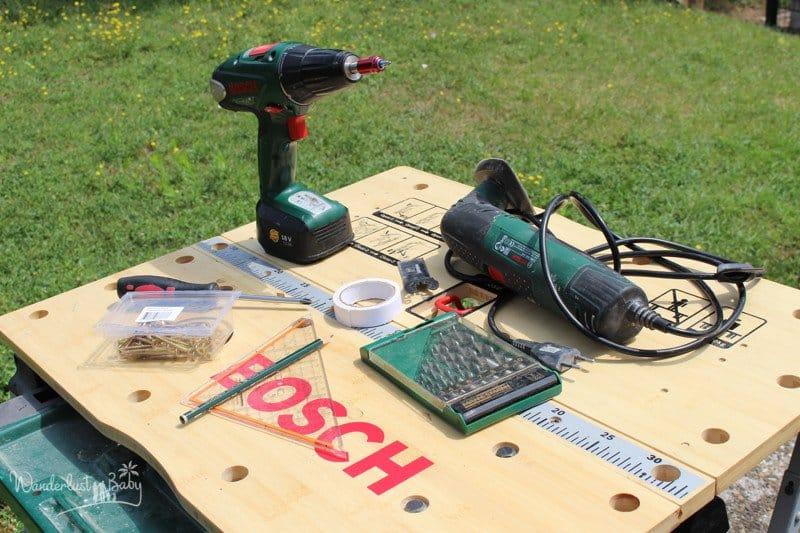 Busy Board Werkzeug