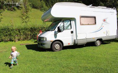 Im Wohnmobil mit Kind und Hund – Auf nach Österreich!