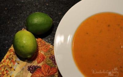 Erkältungssuppe mal anders – Kokos, Tomaten, Limetten!