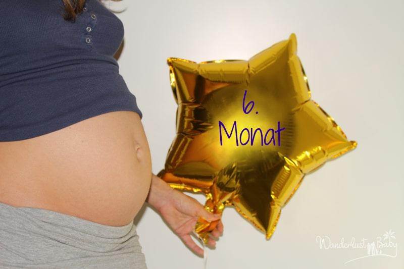 Babybauch 6. Monat