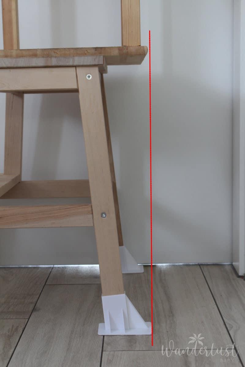 Ikea Learning Tower Kippschutz