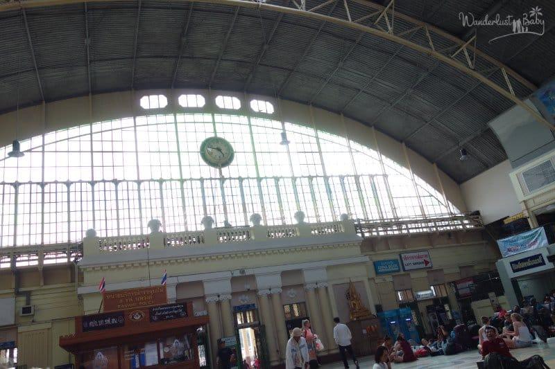 Zugbahnhof in Bangkok