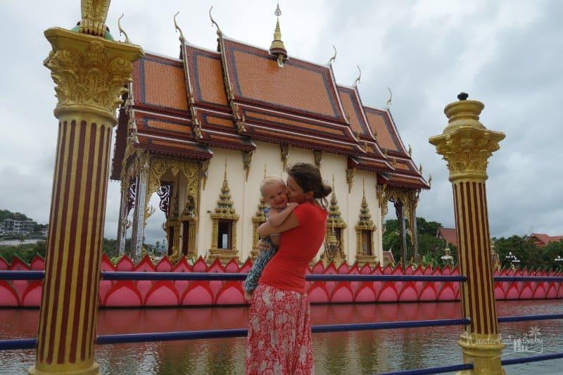 Mama mit Baby Koh Samui