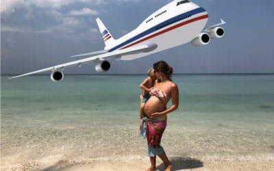 Fliegen in der Schwangerschaft – Infos & Tipps!