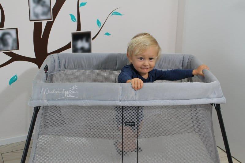 Unser Reisebett Test – BabyBjörn Light für Baby & Kind