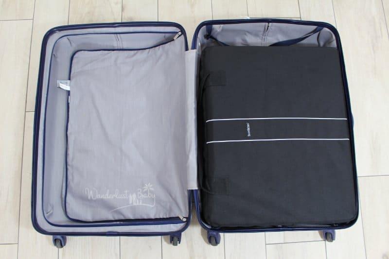 Kinderreisebett im Koffer