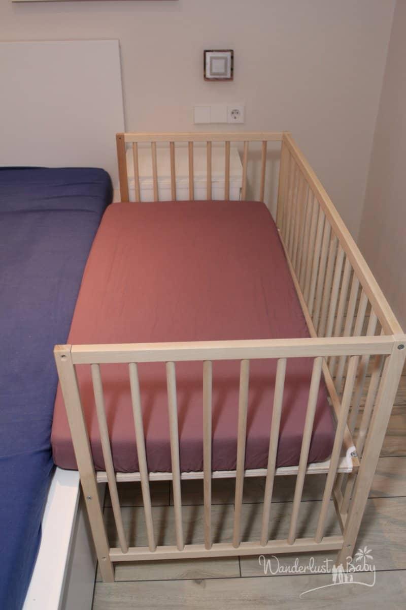 Relativ Baby Beistellbett selbst bauen – günstig & einfach! | Blog XL26
