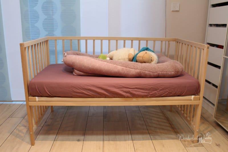 Beliebt Baby Beistellbett selbst bauen – günstig & einfach! | Blog ES25