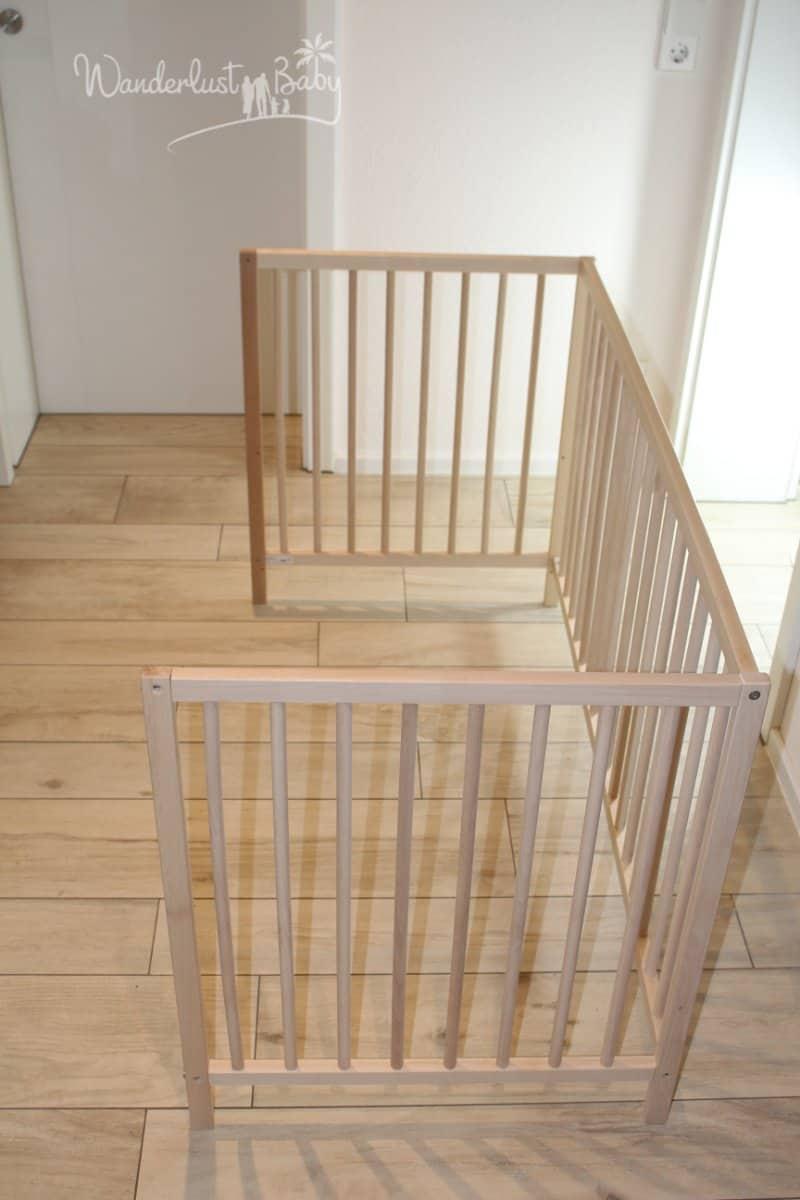 Favorit Baby Beistellbett selbst bauen – günstig & einfach! | Blog FD72