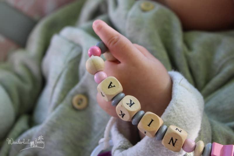 Baby Schnullerkette