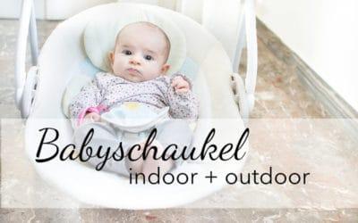 Babyschaukel Test: manuell, elektrisch, für drinnen und draussen!