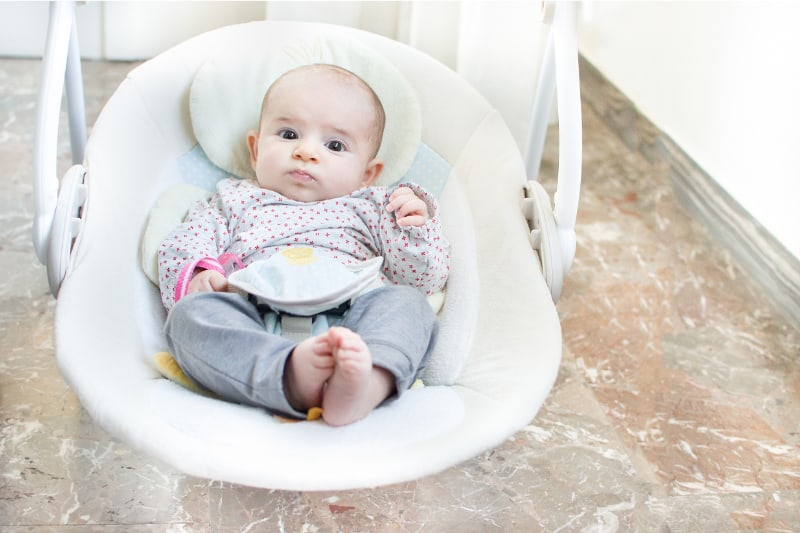 elektrische automatische Babyschaukel