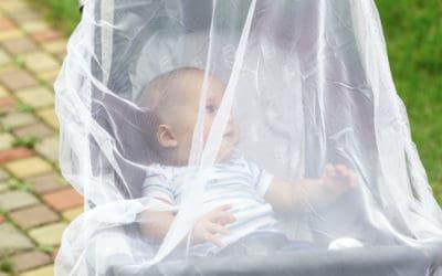 Effektiver Mückenschutz fürs Baby – Diese Mittel helfen!