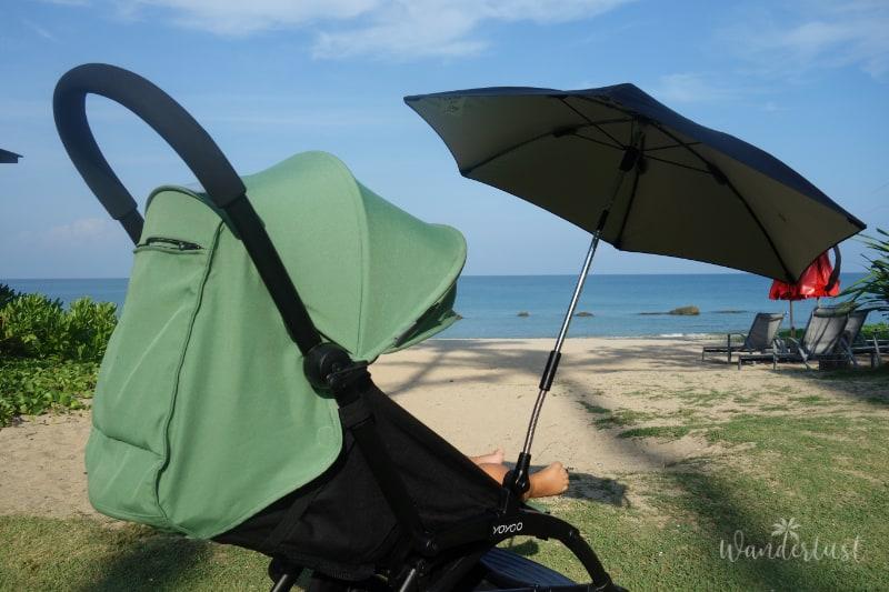 Reisebuggy Sonnenschirm
