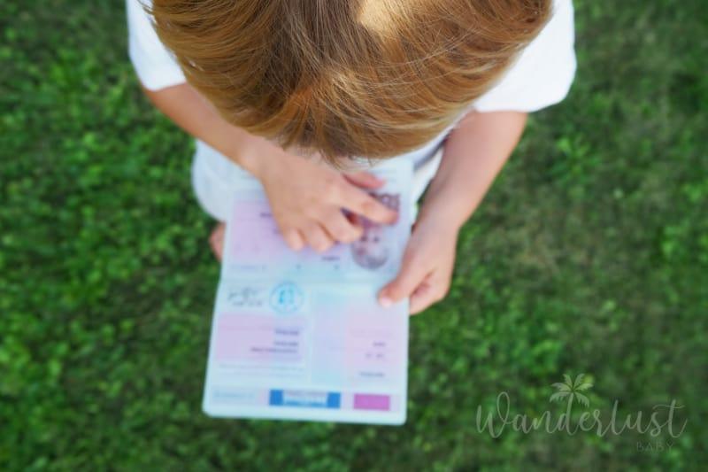Kinderreisepass Dokumente