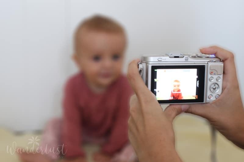 biometrisches Passbild Baby