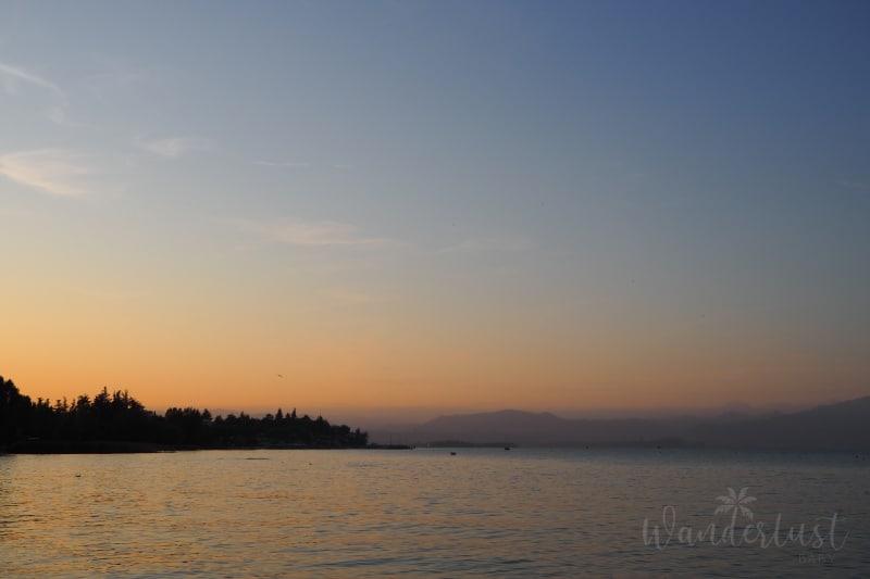 Gardasee Sonnenuntergang