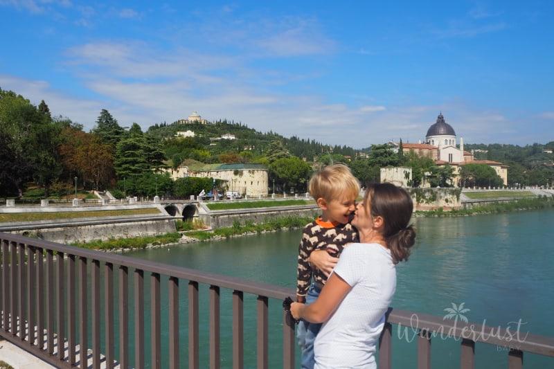 Verona mit Kindern
