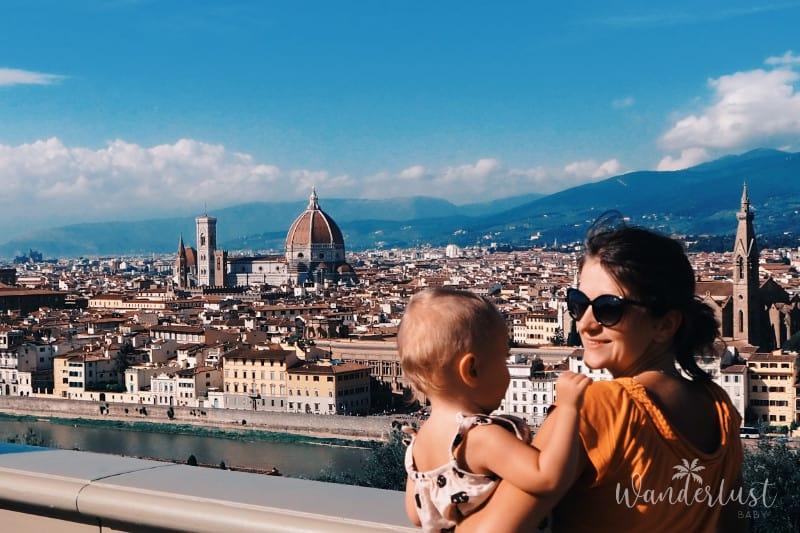Florenz mit Kind