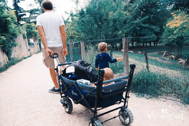 lange Autofahrt mit Kindern Pausen