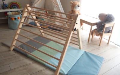 Pikler Dreieck DIY – Kletterdreieck für Kinder | mit Bauanleitung!
