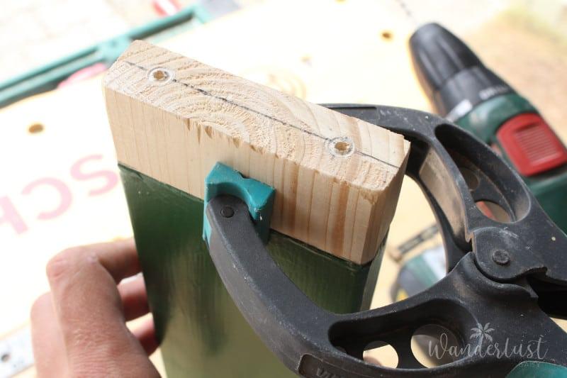 Regenbogenwippe DIY