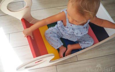Regenbogenwippe DIY – mit Bauanleitung und Druckvorlage!