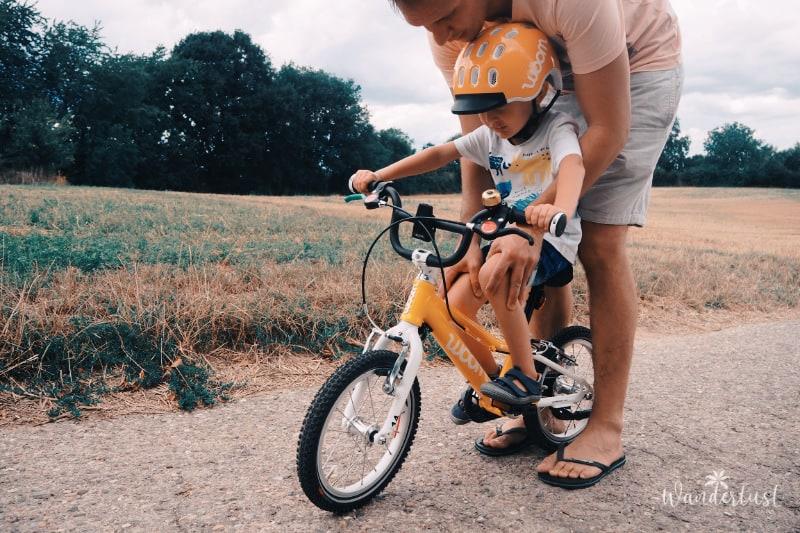 Fahrrad fahren lernen Tipps