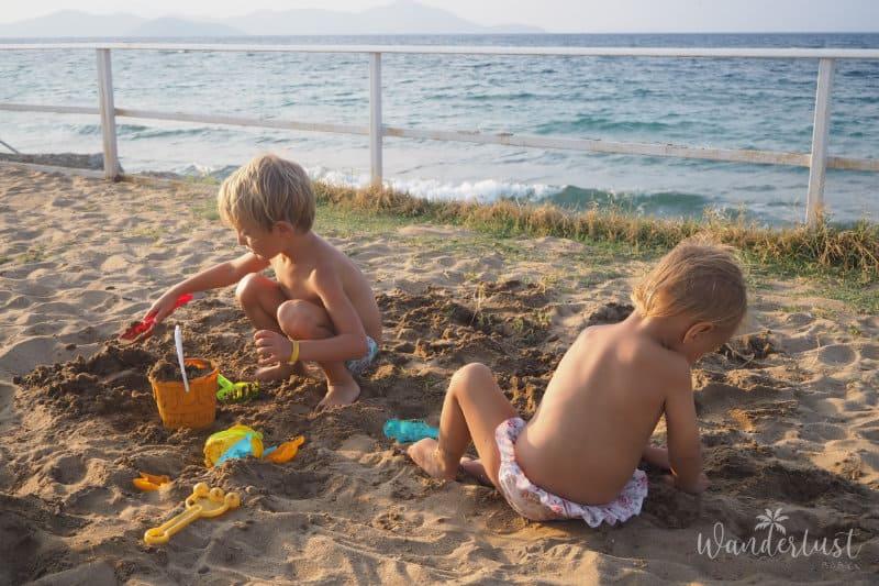 Kos mit Kindern Beach