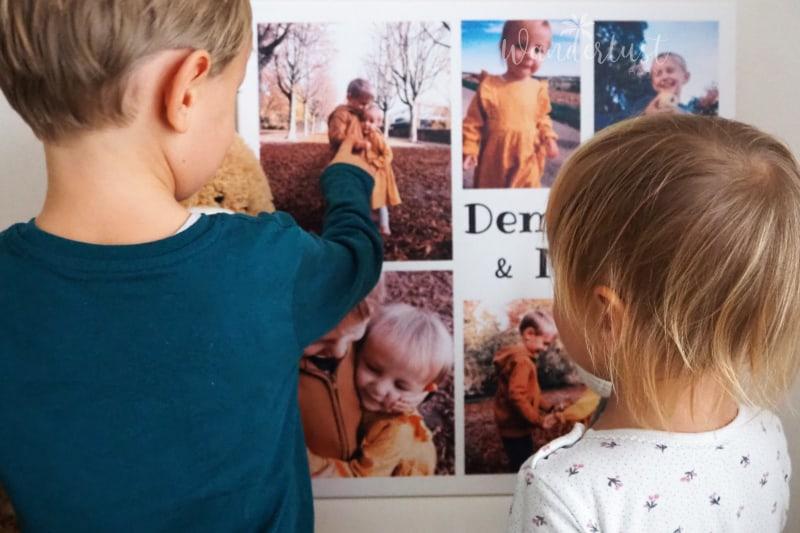 Fotoleinwand Collage