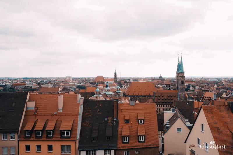 Nürnberg Burg Ausblick